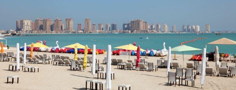 Beaches in Qatar