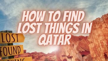 lost things in Qatar